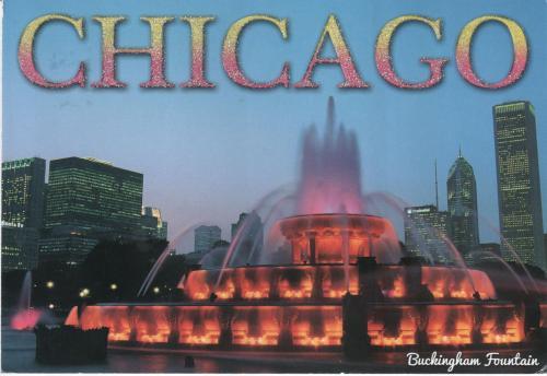 Открытка из США, Чикаго